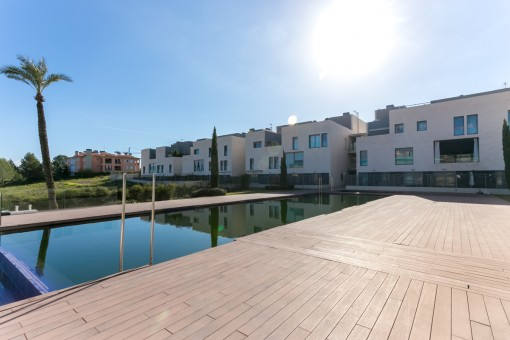 Stylish 2-bedroom apartment right on the golf course Son Quint in Son Rapina