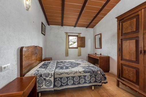 One of 2 bedrooms on the upper floor