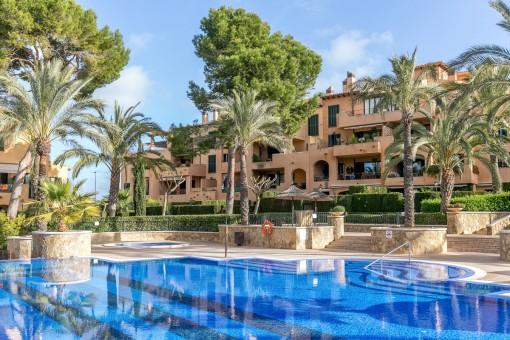 Mediterranean residential complex