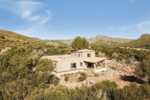Beautiful finca with fantastic views situated between Artá and the Ermita de Betlem