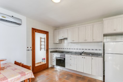 Charming, fully equipped kitchen