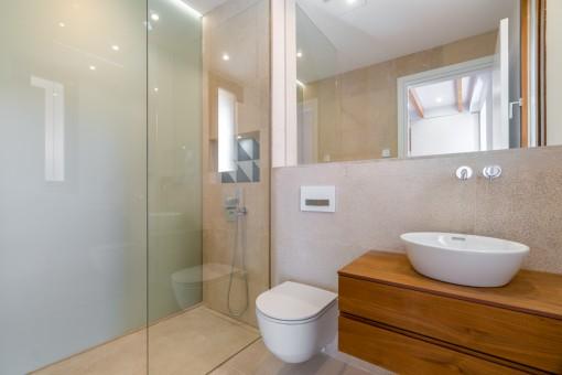 Modern and new bathroom