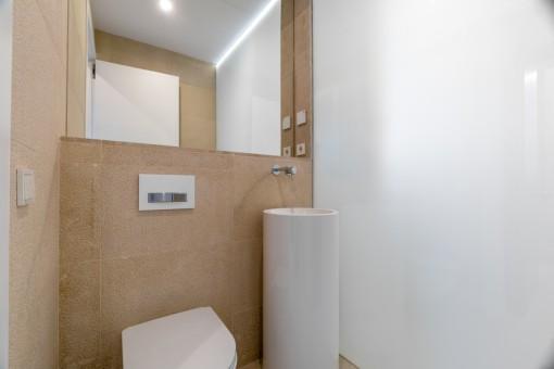 Separte guest WC