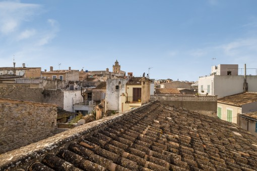 Views over the roofs of Arta