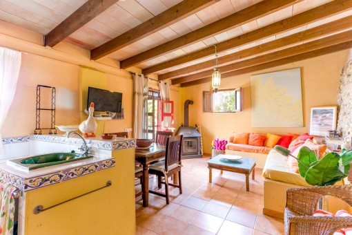 Separate apartment of the finca