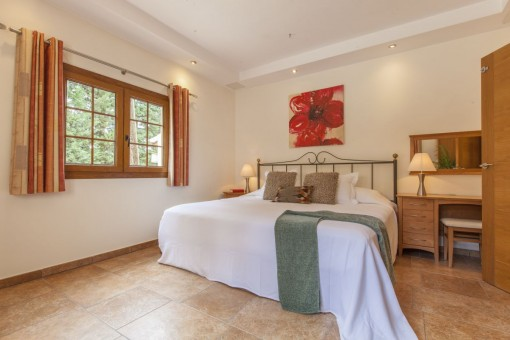 One of 4 bedrooms