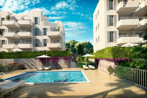 Newly-built apartment near to the marina of Cala D'Or