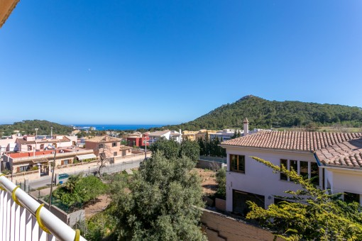 Quiet apartment in Capdepera with sea views as far as Son Moll and Menorca