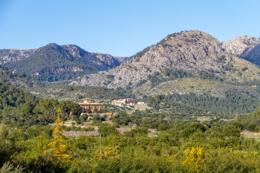 Fantastic views of the Tramuntana mountains