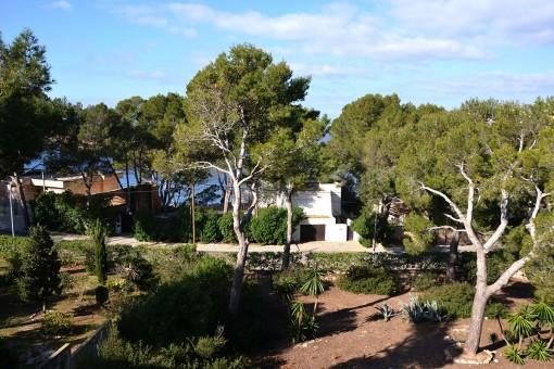 View to the mediterranean sea