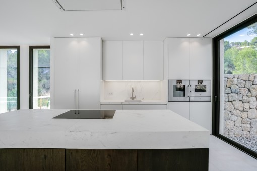 Modern, high quality kitchen