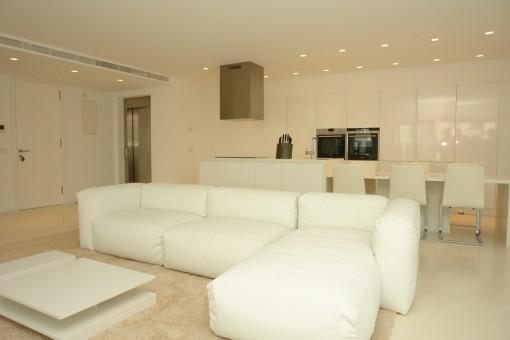 Modern luxury apartment in exclusive complex in Porto Cristo