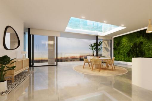 Alternative design of the living room
