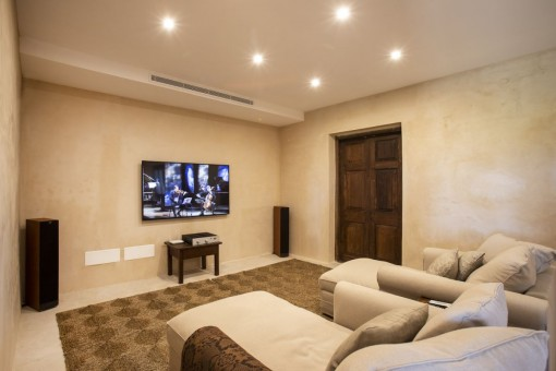 Cosy home theater