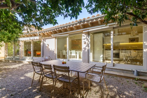 Renovated house with garden and large roof terrace with panoramic views in Soller