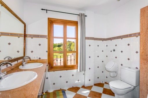 Second, separate bathroom on the upper floor