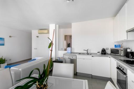 Wonderful, modern kitchen