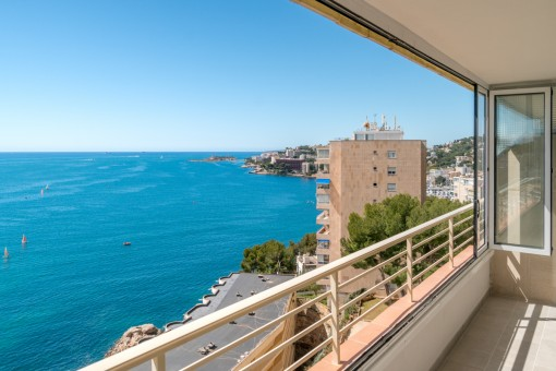 Chic apartment with panoramic sea views in San Augustin