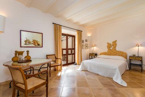 Noble master bedroom
