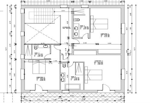 Plan upper floor