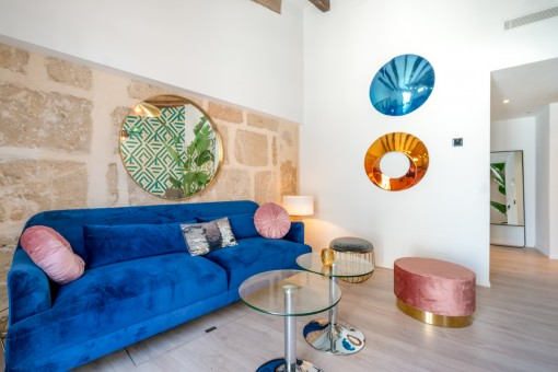 Exceptional designer-town house with an artistic touch in Santa Catalina