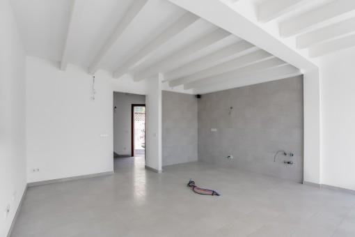Future kitchen area