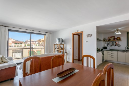 Practical apartment in a central but quiet location in Cala Ratjada