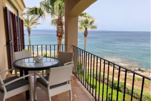 Wonderful penthouse apartment on the first sea line in Betlem
