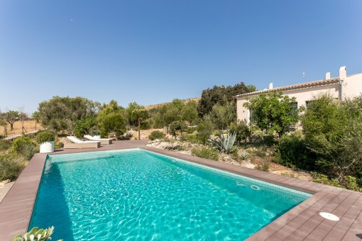 Relaxed luxury in a modern dream-finca with...