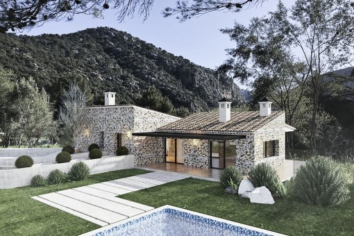 Newly-built villa project in Valldemossa