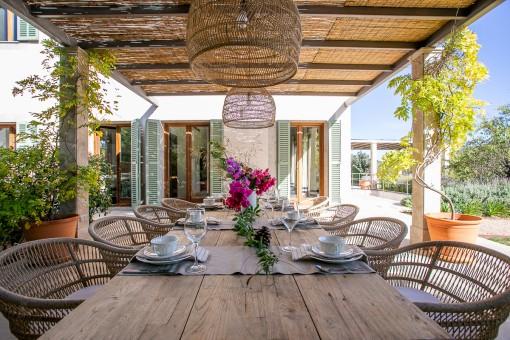 Fantastic dining area