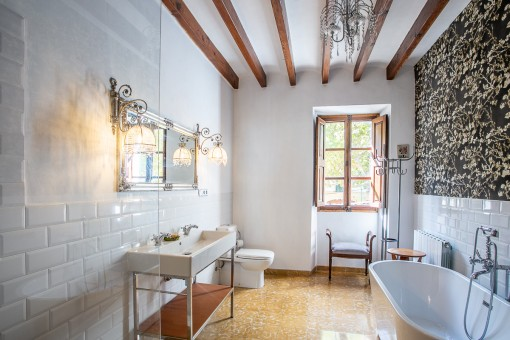 Beautifully renovated bathroom