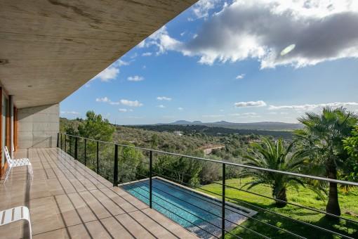 Balcony with wonderful views