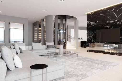 Generous living area