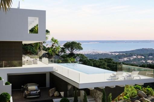 Spactacular views over the bay of Palma