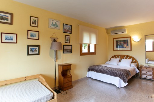 One of 3 bedrooms