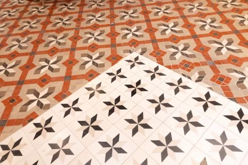 Typical mallorcan tiles