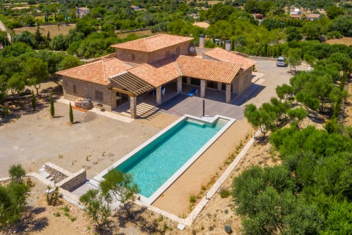 Attractive, newly-built finca in a prime location in Capdepera
