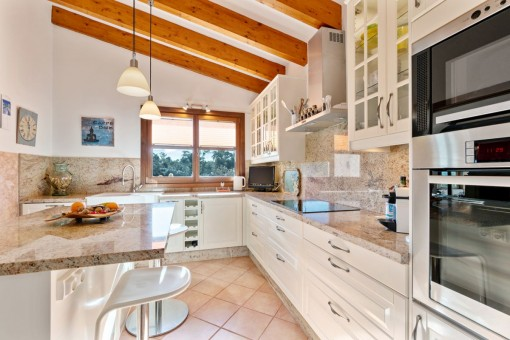 Elegant kitchen on the ground floor