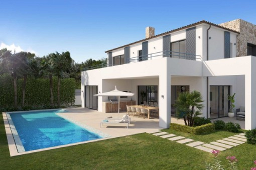 Newly-built villa in a modern design in a coveted location in Santa Ponsa