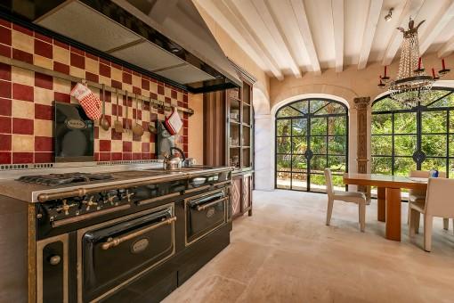 Wonderful, Mallorcan style kitchen