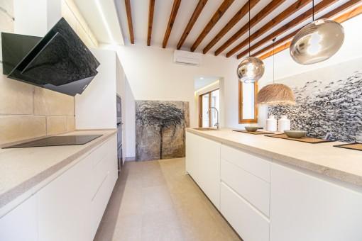 High quality kitchen with kitchen island