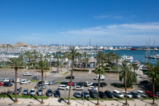 Fantastic views over the Paseo Maritimo