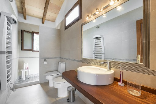 Bathroom on the upper floor
