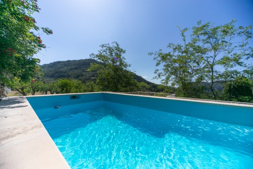 Pool for hot summer days