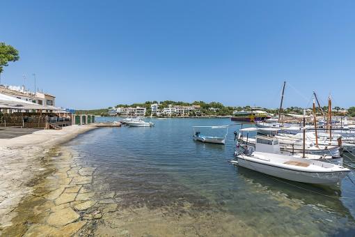 Promenade / harbour of Porto Petro