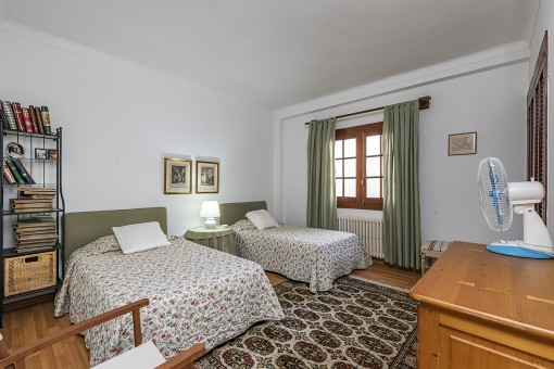 One of 9 bedrooms
