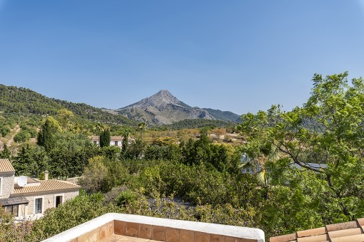 Wonderful views to the Puig de Galatzó
