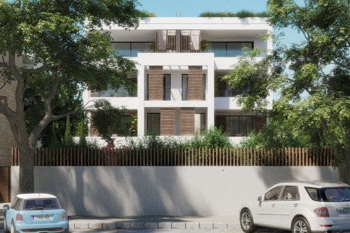 Fantastic apartment with terrace on the first floor of a newly-built complex in Son Armadans