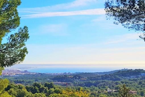 Panoramic sea views